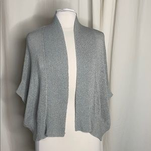 ACROBAT Open Front Cocoon Batwing Shrug Sweater